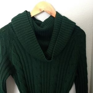 Jessica Simpson Dark Green Sweater Dress S